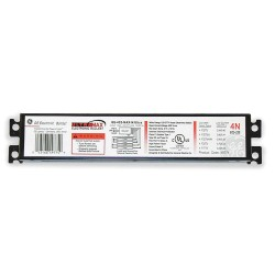 GE (General Electric) - GE-132-MV-PS-H - Electronic Ballast, 32 Max. Lamp Watts, 120/277 V, Programmed