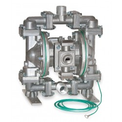 Sandpiper / Warren Rupp - G05B1STTXNSX00 - Stainless Steel PTFE - Buna Backup Single Double Diaphragm Pump, 15 gpm, 100 psi