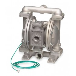 Sandpiper / Warren Rupp - G1FB1STTXNSX00 - Stainless Steel PTFE - Buna Backup Single Double Diaphragm Pump, 45 gpm, 100 psi