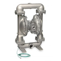 Sandpiper / Warren Rupp - G20B1STTXNSX00 - Stainless Steel PTFE - Buna Backup Single Double Diaphragm Pump, 150 gpm, 100 psi