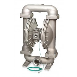 Sandpiper / Warren Rupp - G30B1STTXNSX00 - Stainless Steel PTFE - Buna Backup Single Double Diaphragm Pump, 235 gpm, 100 psi