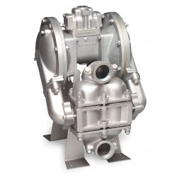 Sandpiper / Warren Rupp - HDB2 DGN3CI - Cast-Iron PTFE - Neoprene Backup Single Double Diaphragm Pump, 135 gpm, 125 psi