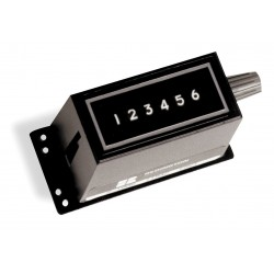 Redington - 2-1006 - Electromechanical Counter, Base Mounting, Number of Digits: 6, Max. Counts per Second: 16.6