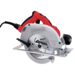 Milwaukee Electric Tool - 6394-21 - 7-1/4 In. Circular Saw with Quik-Lok Cord, Brake and Case