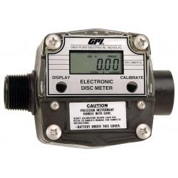 GPI - FM300H/R - Nutating Disc 1 1 FNPT Inlet, 1MNPT Outlet Electronic Flowmeter, PTB Polyester, 2 to 20 gpm