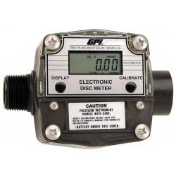 GPI - FM300HL/R - Nutating Disc 1 1 FNPT Inlet, 1MNPT Outlet Electronic Flowmeter, PTB Polyester, 2 to 20 gpm