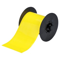 Brady - B30C-4250-509-YL - Yellow Magnetic Label Tape Roll, Indoor/Outdoor Label Type, 25 ft. Length, 4-1/4 Width