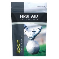 First Aid Only - 10105 - First Aid Kit, Kit, Plastic Case Material, Sports, 1 People Served Per Kit
