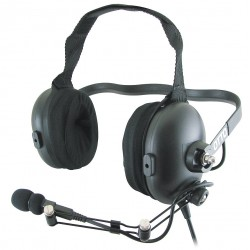 OTTO - V4-10570 - Behind the Head Over Ear, Two Ear, Black, Noise Canceling Yes