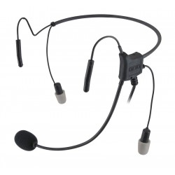 OTTO - V4-HN2MJ5 - Behind the Head In Ear, Two Ear, Black, Noise Canceling Yes