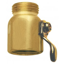 Columbia Sanitary Products - N16 - Brass Flow Control Valve, For Use With Hose and Nozzles