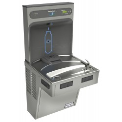 Halsey Taylor - HTHB-HAC8PV-WF - Refrigerated Wall Water Cooler with Bottle Filling Station, 1 Level, Electronic Sensor Dispenser Ope