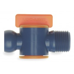 Lockwood - 32092 - Male NPT Valve, 1/2 In, PK2
