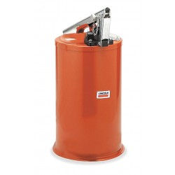 Lincoln Industrial - 1275 - Grease Pump with Container, 40 lb.
