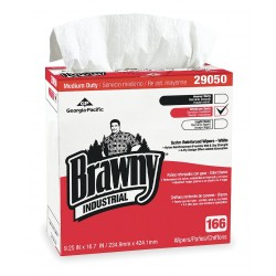 Georgia Pacific - 29050/03 - White Airlaid Disposable Wipes, Number of Sheets 166, Package Quantity 5