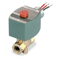 Red Hat - 8263H300 - Steam and Hot Water Solenoid Valve, 2-Way/2-Position Valve Design, Normally Closed Valve Configurati