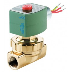 Red Hat - 8263H305 - Steam and Hot Water Solenoid Valve, 2-Way/2-Position Valve Design, Normally Closed Valve Configurati
