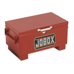 Jobox - 651990D - 15-1/2 x 18 x 31 Jobsite Box, 4.0 cu. ft., Brown