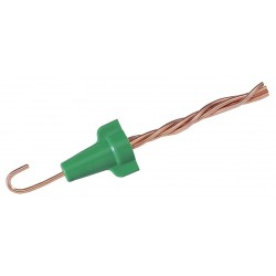 Stirling / IDEAL Industries - 30-092 - Twist On Wire Connector, Green, 92 Series, Max. Wire Combination: (4) 12 AWG
