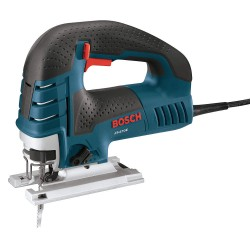 Bosch - JS470E - Bosch 120 V 7 A 500 - 3100 SPM Top Handle Orbital Jigsaw With Trigger Speed Control (Includes (1) Blade, (1) Anti Splinter Insert, (1) Plastic Overshoe, (1) Bevel Wrench And (1) Carrying Bag), ( Each )