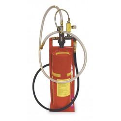 Econoline - 101825G-A - 10-lb. Cap. Pressure-Fed Portable Soda Blaster, 12 Min. CFM @ 80 PSI, 5 ft. Hose Length