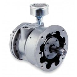 Gast - 8AM-NRV-76 - 5 C Face Mounted Air Motor with 7/8 Shaft Dia. and 1/2 NPT Port Size