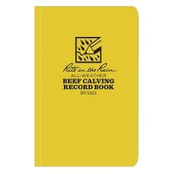 JL Darling - 1621 - Animal Record Book, Beef Calving