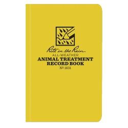 JL Darling - 1631 - Animal Record Book, Animal Treatment