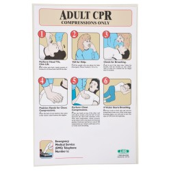 Accuform Signs - 197718 - First Aid Poster, English, 17 x 11, 1 EA