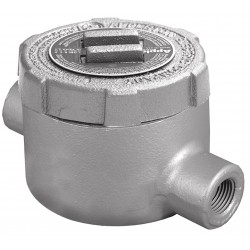 Appleton Electric - GUC75 - C-Style 3/4 Conduit Outlet Body, Threaded Iron, 19.0 cu. in.