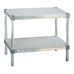 New age 21836es30p fixed height work table aluminum for Table th fixed width