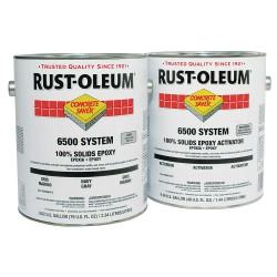 Rust-Oleum - S6582413 - High Gloss Polyamine Converted Epoxy Floor Coating, Silver Gray, 1 gal.