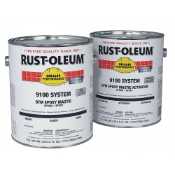 Rust-Oleum - 9192402-3402 - White Epoxy Activator and Finish Kit, Semi-Gloss Finish, 125 to 200 sq. ft./gal. Coverage, Size: (2)