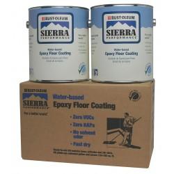 Rust-Oleum - 208066-208086 - Gloss Epoxy Floor Coating Kit, Clear, 1 gal.