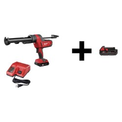 Milwaukee Electric Tool - 2641-21CT / 48-11-1820 - Caulk Gun with Additional Battery, 18V