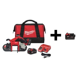 Milwaukee Electric Tool - 2629-22 / 48-11-1840 - Band Saw with Add Battery, 18V