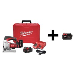 Milwaukee Electric Tool - 2645-22 / 48-11-1840 - Jig Saw with Additional Battery, 18V