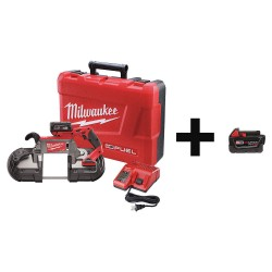 Milwaukee Electric Tool - 2729-21 & 48-11-1840 - Cordless Band Saw, 18.0V