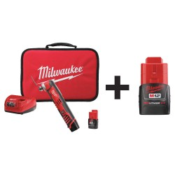 Milwaukee Electric Tool - 2426-22 48-11-2420 - Cordless Oscillating Tool Kit, 12.0V
