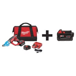 Milwaukee Electric Tool - 2636-22 48-11-1840 - Cordless Shear Kit, 18.0V, Contractor Bag