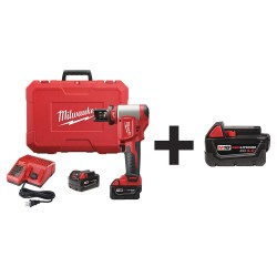 Milwaukee Electric Tool - 2676-20 48-11-1840 - Cordless Knockout Tool Kit, Carrying Case