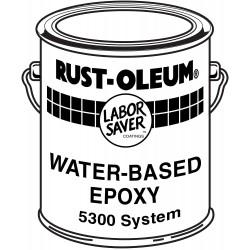 Rust-Oleum - 5392 - White Epoxy Activator and Finish Kit, Gloss Finish, Size: 1 gal.