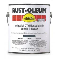 Rust-Oleum - 9125 - Safety Blue Epoxy Activator and Finish Kit, Semi-Gloss Finish, Size: 1 gal.