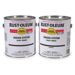 Rust-Oleum - HS9381-407 - Gray Urethane Activator and Finish Kit, High Gloss Finish, Size: 1 gal.