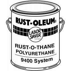 Rust-Oleum - 9492 - White Urethane Activator and Finish Kit, High Gloss Finish, Size: 1 gal.