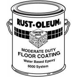 Rust-Oleum - 6010 - Clear Epoxy Activator and Finish Kit, Gloss Finish, Size: 1 gal.