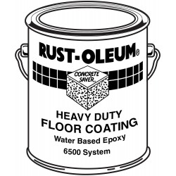 Rust-Oleum - S6510 - Clear Epoxy Activator and Finish Kit, High Gloss Finish, Size: 1 gal.