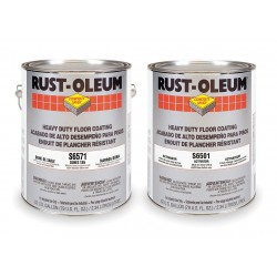 Rust-Oleum - S6571 - Dunes Tan Epoxy Activator and Finish Kit, High Gloss Finish, Size: 1 gal.
