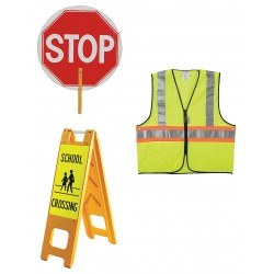 Other - 7Y370 - X Large Crosswalk Safety Kit