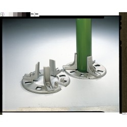 Troemner - 970039 - Adjustable Single Cylinder Stand, 1 Cylinder Capacity, 7-1/2 Height, 18-1/2 Width